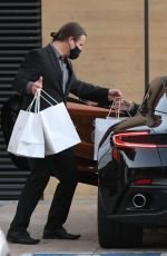 Sofia Richie Picks up food at Nobu in Malibu