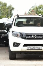 Summer Monteys-Fullam Takes delivery of her new 38K Nissan Navara special edition truck in London
