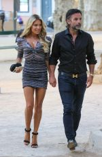 Sylvie Meis Spotted out & about in Saint-Tropez, France