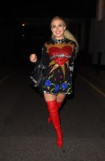Tallia Storm Arriving at LH2 Studios in London