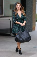 Una Healy Leaving the Sunday Brunch studios in London