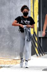 Vanessa Hudgens At the Dogpound gym in West Hollywood