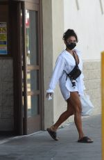 Vanessa Hudgens Picking up dinner in LA