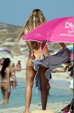 Vivian Sibold On a family holiday at the beach in Formentera