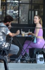Whitney Port Goes on a lunch date with her husband
