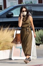 Abigail Spencer Out on errands in Brentwood