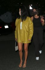 Addison Rae & Kourtney Kardashian Leaving dinner in Malibu