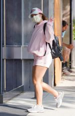 Addison Rae Seen heading to the gym in West Hollywood