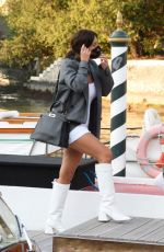 Adele Exarchopoulos Arriving at Hotel Excelsior in Venice