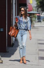 Alessandra Ambrosio Exits the Immigration offices in downtown Los Angeles