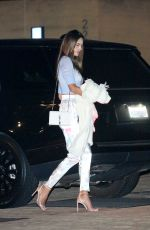 Alessandra Ambrosio Looks great as she is seen arriving at Nobu for dinner on Friday night in Malibu