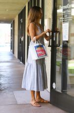 Alessandra Ambrosio Visits a skin care clinic in Los Angeles