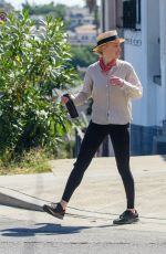 Amber Heard Takes a long hike in the hot weather with female friend at Elysian Park in Los Angeles