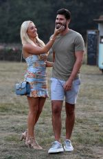 Amber Turner At The Only Way is Essex TV show filming in Essex