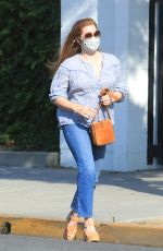 Amy Adams Leaving a hair salon in Beverly Hills