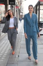 Amy Jackson Out in a pantsuit in London