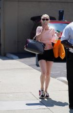 Anne Heche Outside Dancing With The Stars Rehearsal Studios in Hollywood