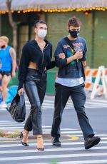 Anwar Hadid & Dua Lipa Spotted out & about in the streets of New York City