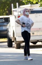 Ariel Winter and Luke Benward Are Spotted House Hunting in Los Angeles