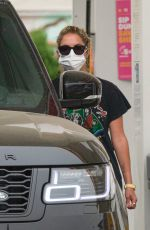 Ashley Benson At a gas station in Los Angeles