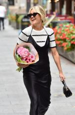Ashley Roberts Outside the Global Studios in London