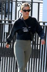"Ashley Roberts Rocks a slogan T ""No matter how hard I try, I"