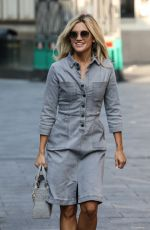 Ashley Roberts Seen at Global Radio Studios in London