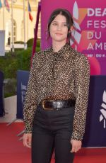 Astrid Berges Frisbey At Les Deux Alfred Premiere during the 46th Deauville American Film Festival