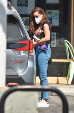 Aubrey Plaza Grabs some snacks and pumps gas in Los Angeles