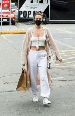 Bailee Madison Seen out & about in Vancouver