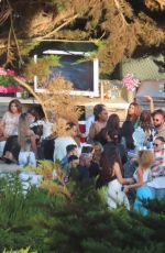 Bebe Rexha Attends a house party in Malibu
