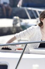 Bee Shaffer Spotted on vacation out in Portofino