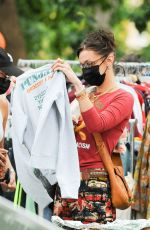 Bella Hadid Heads to Brooklyn to shop at Black Lives matter charity event in New York