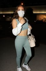 Brighton Sharbino In Workout clothes out in Los Angeles