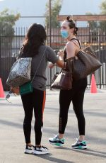 Britt Stewart Seen leaving practice at the dance studio on Sunday in Los Angeles