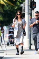 Camila Morrone Spotted stepping out with her stylist in West Hollywood