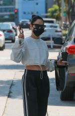 Cara Santana Seen while out getting her morning caffeine fix with a friend inWest Hollywood