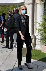 Cate Blanchett Arrives at the Excelsior during the 77th Venice Film Festival in Venice