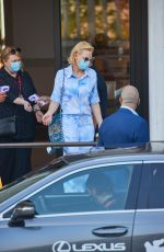 Cate Blanchett Leaving her hotel during the 77th Venice Film Festival in Venice
