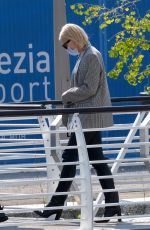 Cate Blanchett Looks stylish as she leaves the Venice Film Festival in Venice