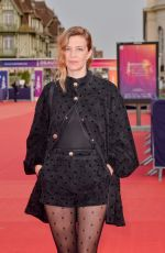 Celine Sallette Attending the screening of the movie ADN during the 46th Deauville American Film Festival