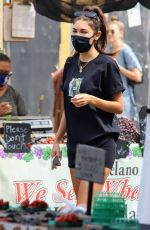 Chantel Jeffries and boyfriend Drew Taggert gets a handful with PDA while at the Farmers Market together