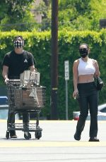 Charli XCX Outside a grocery store in Los Feliz