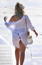Chloe Ferry and Bethan Kershaw are spotted on holiday in Marbella
