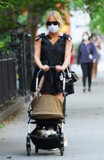 Chloe Sevigny Goes out for a stylish stroll with her son Vanja in SoHo