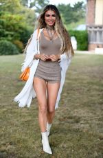 Chloe Sims At The Only Way is Essex TV show filming in Essex