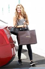 Chrishell Stause Arriving for practice at the dance studio in Los Angeles