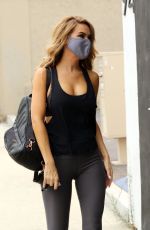 Chrishell Stause Heads to the DWTS studio in Los Angeles