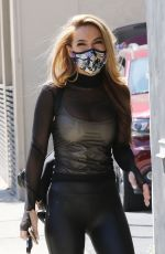 Chrishell Stause Looking great as she arrives all smiles at the DWTS studio in Los Angeles