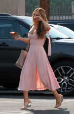 Chrishell Stause Looks lovely as she heads to the DWTS studio in Los Angeles
